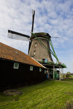 Windmills of Zaanse Schans, Netherlands Royalty Free Stock Photo