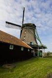 Windmills of Zaanse Schans, Netherlands. Windmills of Zaanse Schans on a sunny day in spring Royalty Free Stock Photo