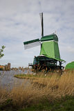 Windmills of Zaanse Schans, Netherlands Stock Photography
