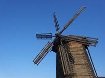 Windmolen Stock Foto