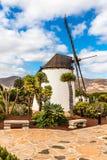 Windmolen-Antigua, Fuerteventura, Kanarie Isl , Spanje Stock Foto