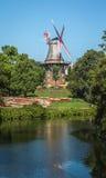 Windmolen in Bremen Stock Afbeelding