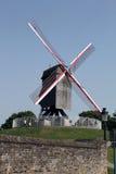 Windmolen in Brugge, België, Royalty-vrije Stock Foto