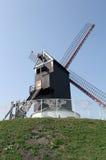 Windmolen in Brugge, België, Royalty-vrije Stock Afbeelding