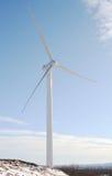 Windmolen in de winter Royalty-vrije Stock Afbeelding