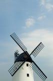 Windmolen en hemel Royalty-vrije Stock Afbeelding