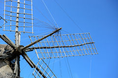 Windmolen in Formentera Royalty-vrije Stock Fotografie