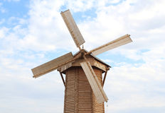 Windmolen. Het Bulgaarse Historische en Architecturale Bezwaar van de Staat. Stock Foto's