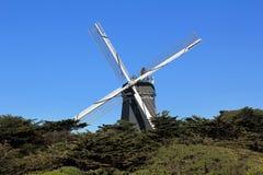 Windmolen in het Park van het Golden Gate Stock Afbeelding
