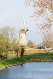 Windmolen in Hoofddorp Stock Foto's
