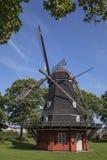 Windmolen in Kastellet - Kopenhagen - Denemarken Royalty-vrije Stock Foto's