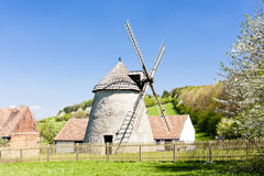 Windmolen, Kuzelov Stock Foto's