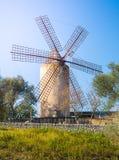 Windmolen, Majorca Stock Afbeeldingen