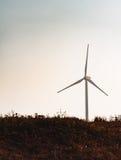 Windmolen op gebied Royalty-vrije Stock Foto's