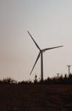 Windmolen op gebied Royalty-vrije Stock Afbeelding