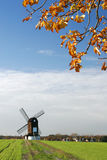 Windmolen in Pitstone, Engeland royalty-vrije stock afbeelding