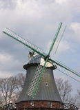 Windmolen in schiffertor-I-Stade Stock Foto