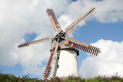 Windmolen in Skerries Stock Afbeeldingen