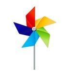 Windmolen Toy Vector Illustration stock illustratie