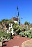 Windmolen van Antigua (Molino DE Antigua). Fuerteventura, Canarische Eilanden, Spanje. Stock Foto