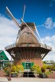 Windmolen van Sloten, Nederland Stock Afbeelding