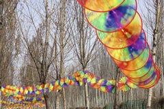 Windmolenfestival royalty-vrije stock fotografie