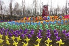 Windmolenfestival stock afbeeldingen