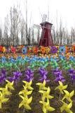Windmolenfestival royalty-vrije stock afbeeldingen