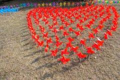 Windmolenfestival royalty-vrije stock afbeelding