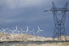 Windmolenlandbouwbedrijf Stock Afbeelding