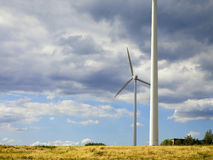 Windmolens 2 Royalty-vrije Stock Afbeelding