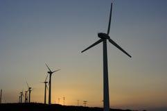 Windmolens Stock Afbeelding