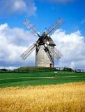 Windmolens 6 van Skerries Stock Foto