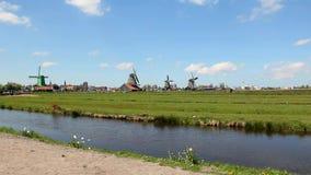 windmolens stock video