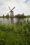 Windmolens in Holland Royalty-vrije Stock Fotografie
