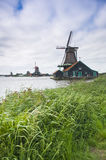 Windmolens in Holland Royalty-vrije Stock Afbeelding