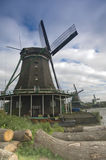 Windmolens in Holland Stock Foto