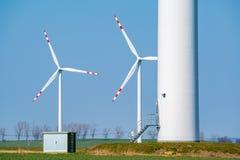 Windmolens op het gebied Royalty-vrije Stock Foto