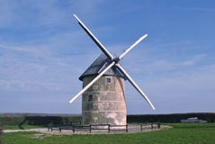 Windmolens van Holland Stock Afbeeldingen