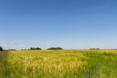 Windmotor voor machtsgeneratie Stock Foto's