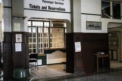 Windoek火车站和博物馆 免版税图库摄影