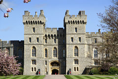 Windor Castle South Wing Royalty Free Stock Images