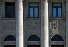 Windos av Kapitolium royaltyfri bild