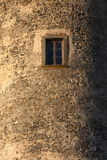 Window. In the bracciano castle Royalty Free Stock Photo