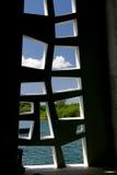 Window. A window of Arizona Memorial,Hawaii Royalty Free Stock Images