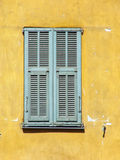 Window. With shutters royalty free stock photo