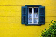 Window. A detail from a window in Nafplio city Stock Photo