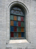 Window. A window of a church Stock Photography