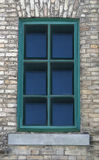 Window. Of an old brick house Royalty Free Stock Photos