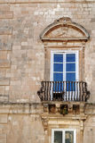 Window. Of a palace of siracusa Stock Photography
